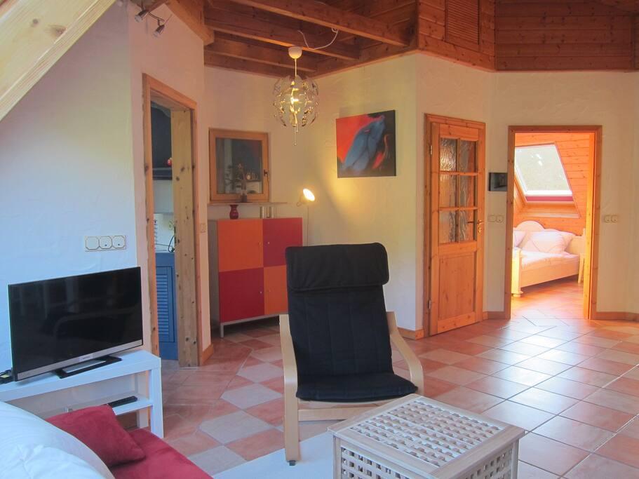 Wohn -Esszimmer/ Livingroom