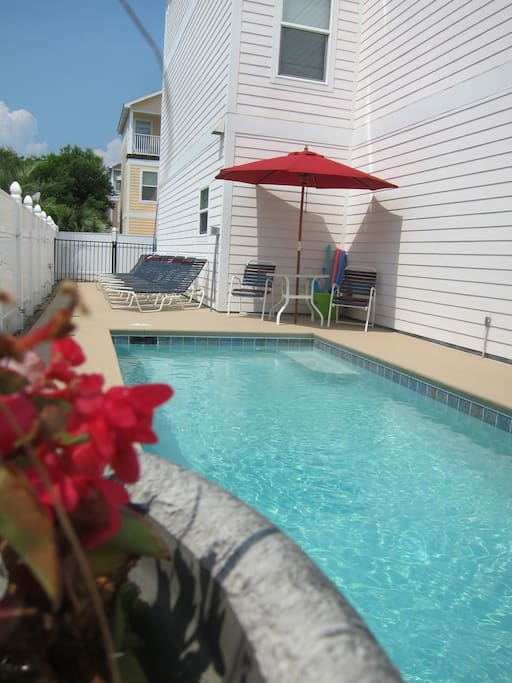 Shared Pool between 3 homes