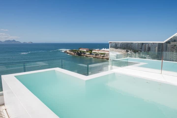 Luxury 3BR Penthouse in Copacabana - ilive027