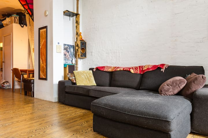 Zen Bedroom in Williamsburg Loft