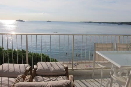 3-room waterfront Cannes Palm Beach - Cannes