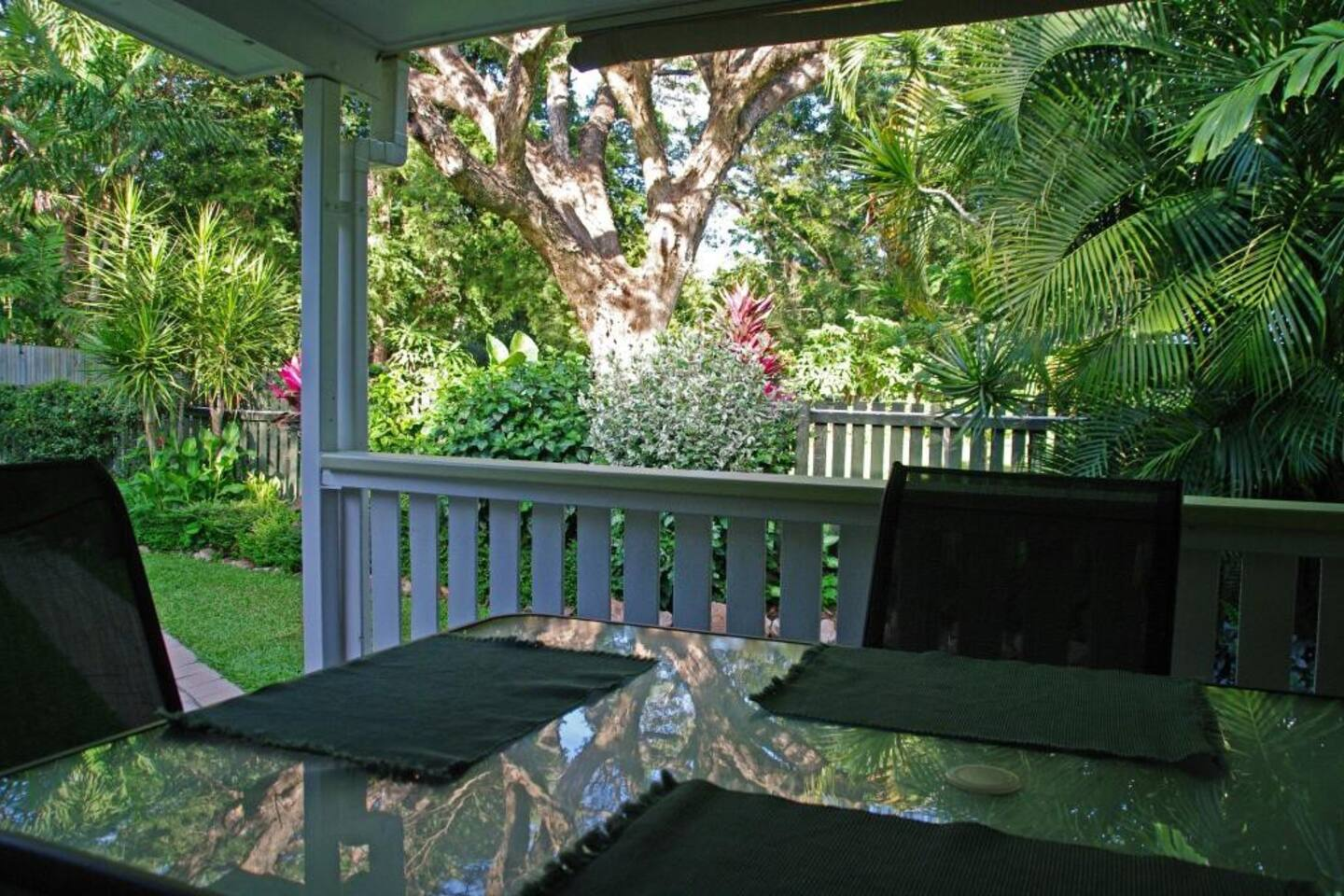 Relax and view the Botanical Gardens