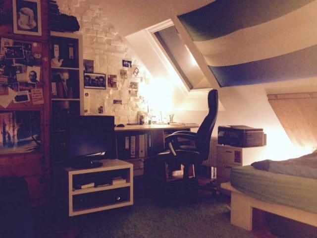 Zimmer in nächster Nähe zur Stadt - Stuttgart - Apartment
