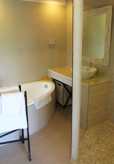 En-Suite with bath - some rooms only have showers