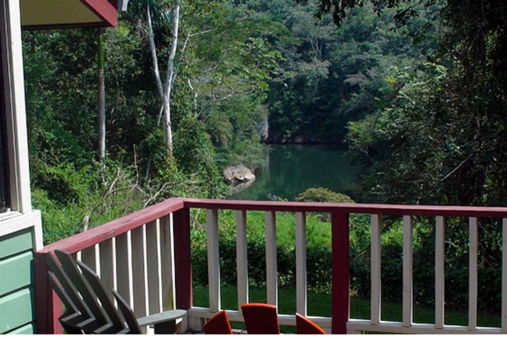 Macal River from La Casona Deck