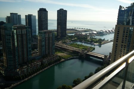 50th Floor Navy Pier View