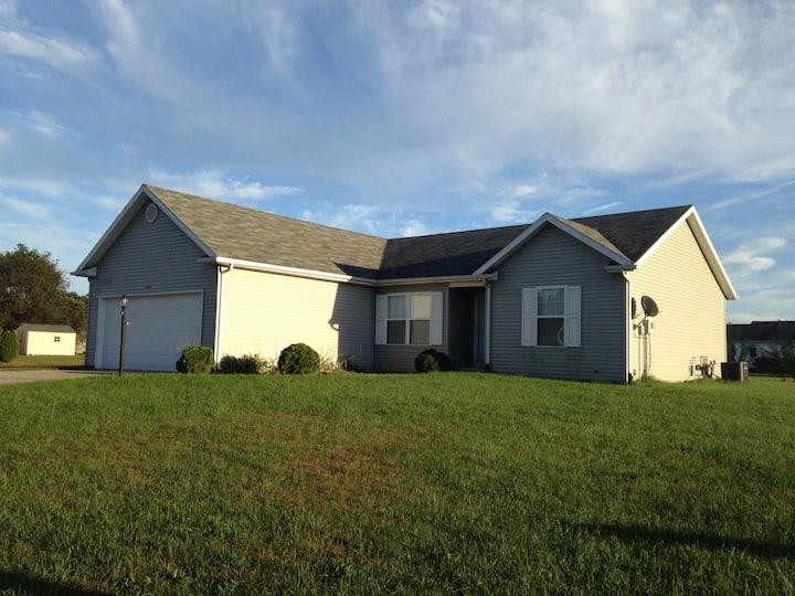 3 BR home in quiet subdivision.