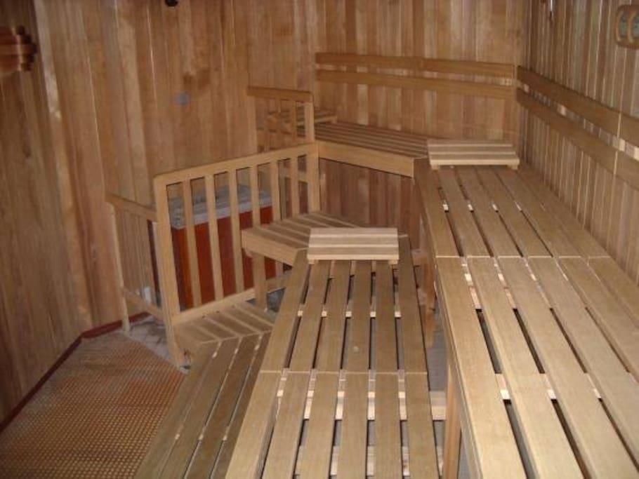 Sauna gegen Münzeinwurf