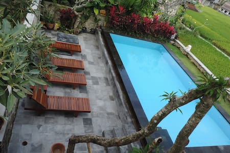 Deluxe Room With Pool-Ubud Center