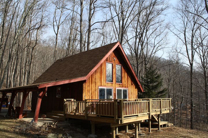 Hip Little Cabin on the Hill - Swannanoa - House
