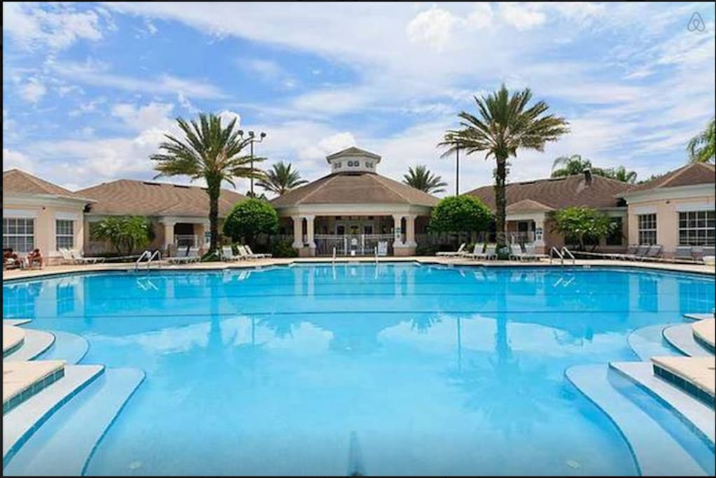 3 Miles To Disney 3 Bedroom Resort Style Condo Apartments For Rent In Kissimmee Florida