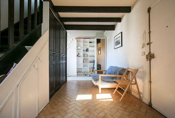 Lovely duplex in Le Marais