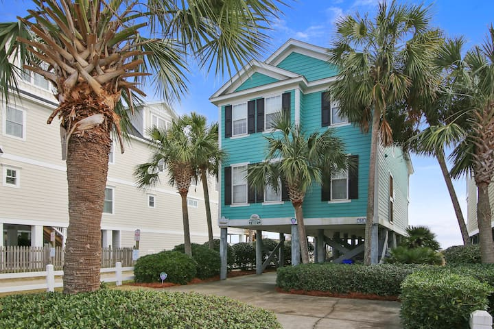Recovery Zone a Ocean Front House - Surfside Beach - House