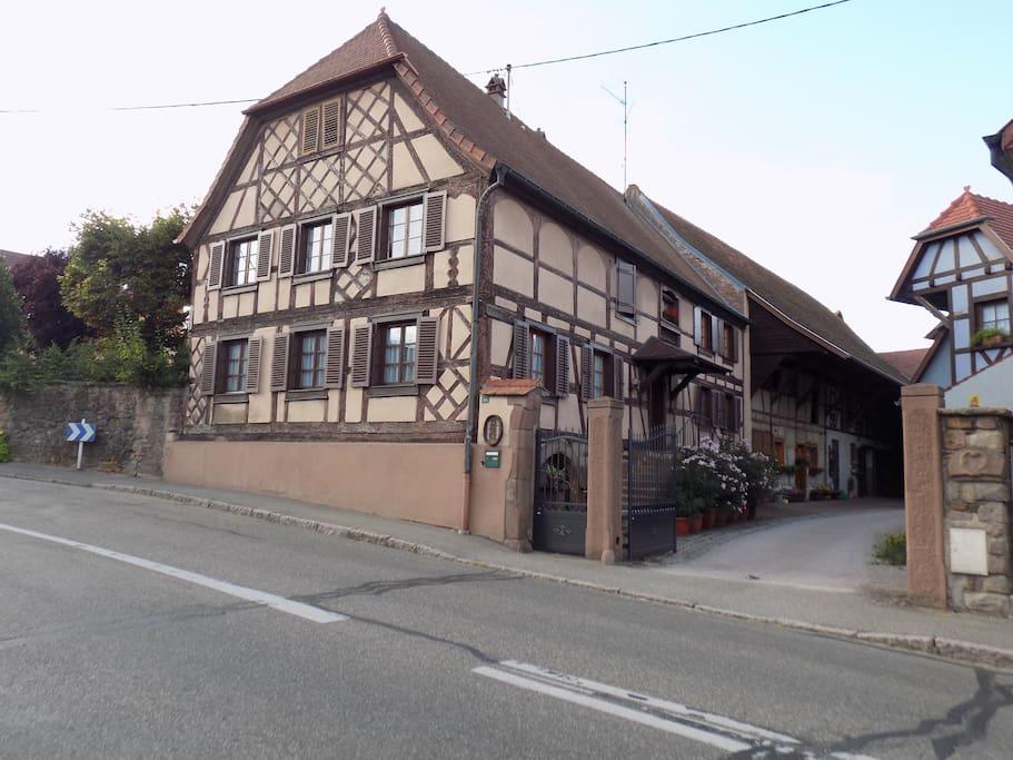 Maison Wurtz ; classée monument historique