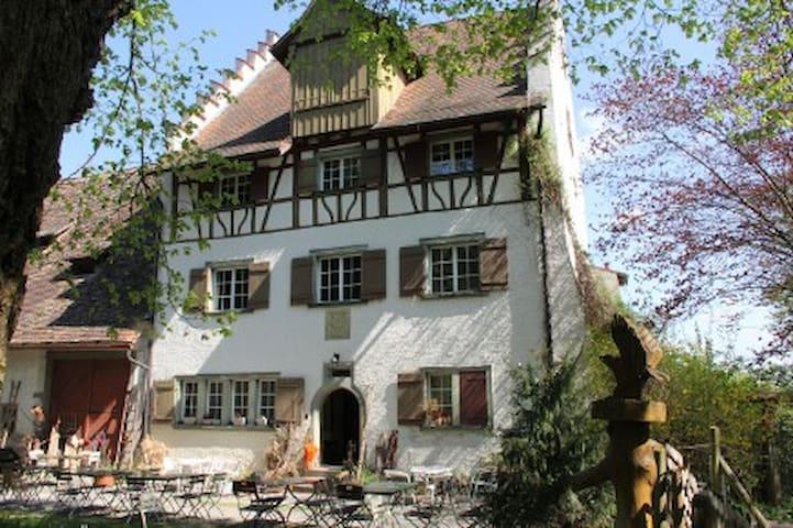 Burghof Wallhausen, Kulturdenkmal - Konstanz - Ev