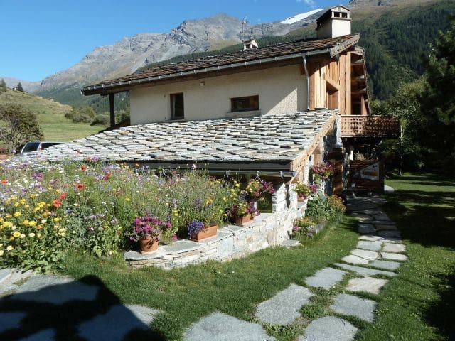 très bel appartement  rez de jardin - Lanslebourg-Mont-Cenis - Daire