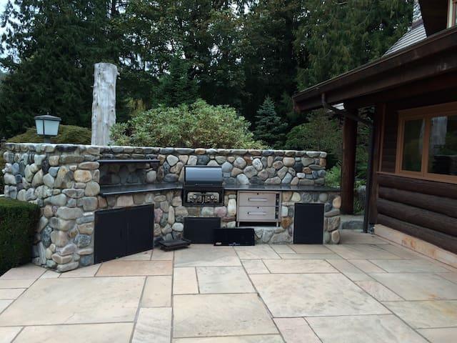 BBQ FOR PARTIES, reservation required, there's a fee applied. But you are welcome to use another small BBQ stove for free, you will see it when upon your arrival.