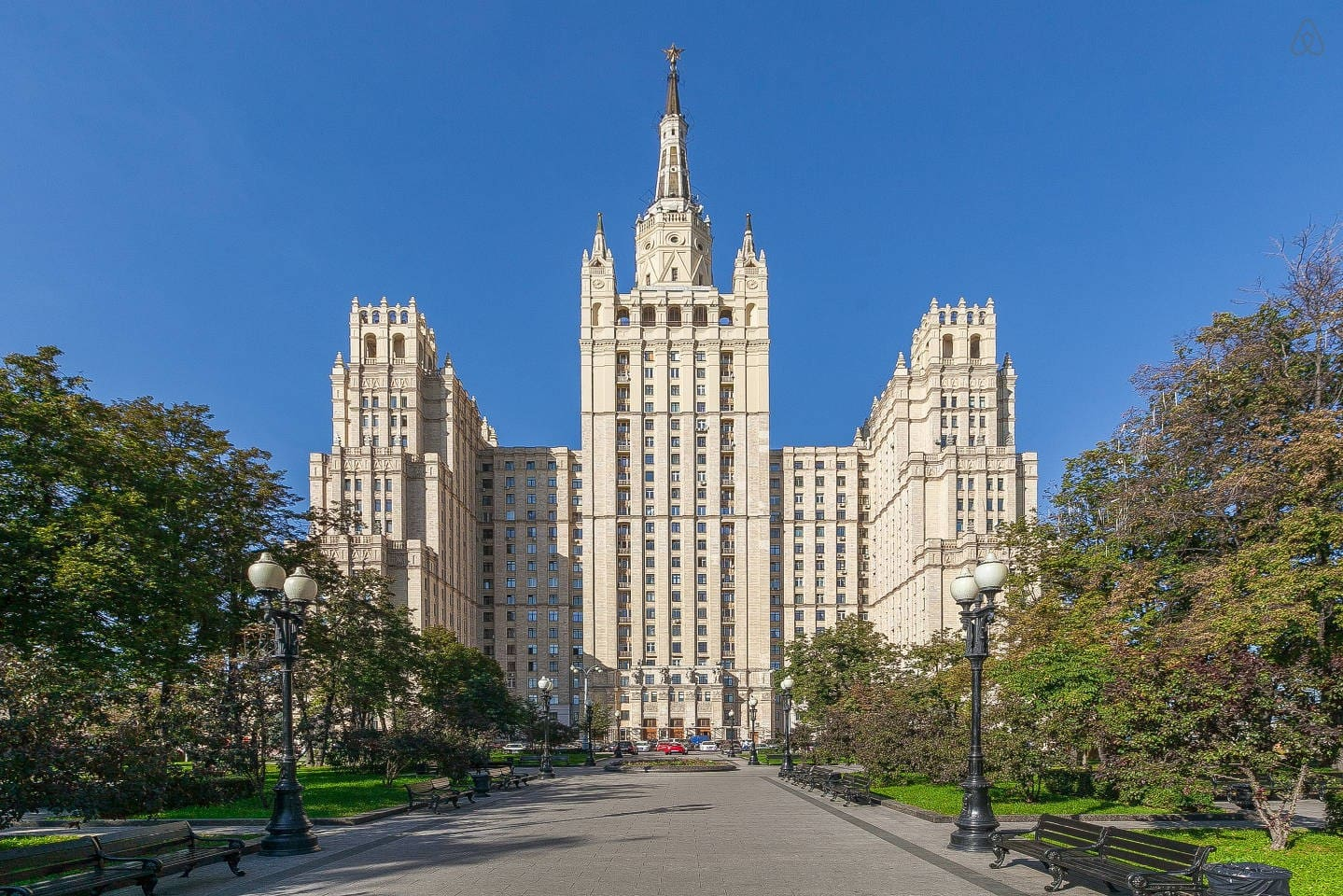 """Live in one of the """"Seven Siters"""" built during's Stalin's period"""