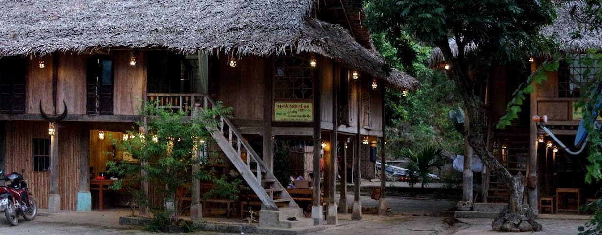 Private room under the stilt house - Hoa Binh - Appartamento
