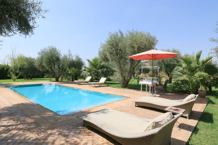 Luxury villa in Marrakech - Marrakesh - Huis