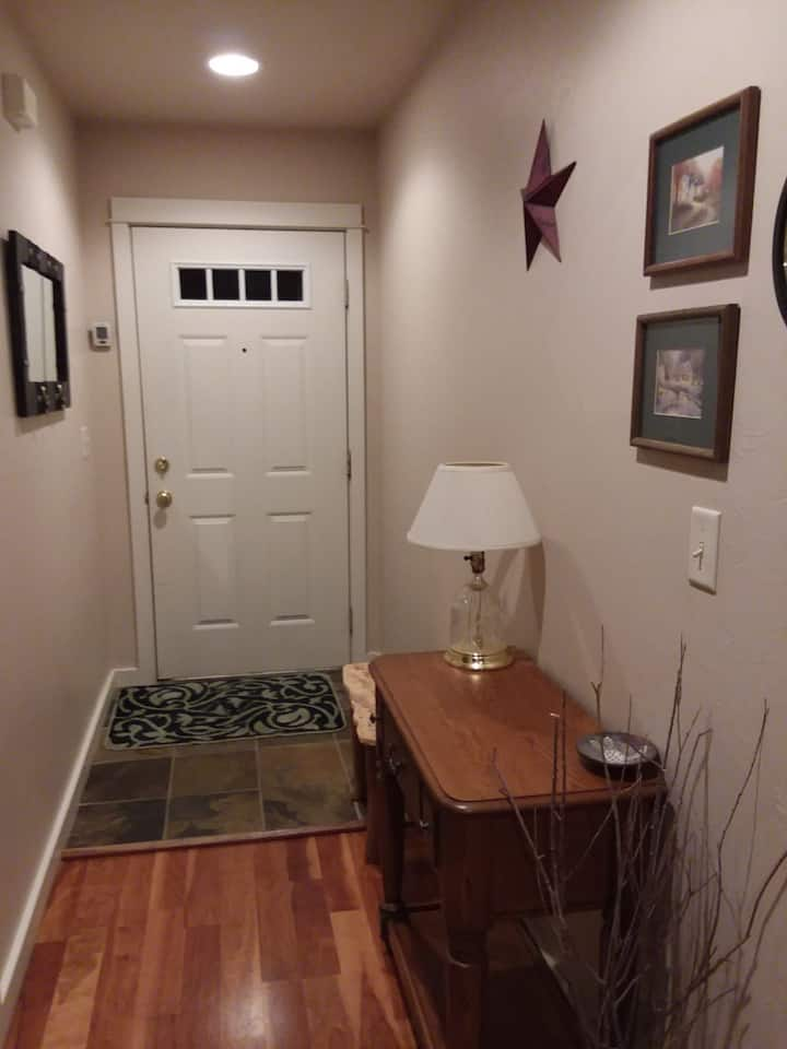 One bedroom and bath just for you!