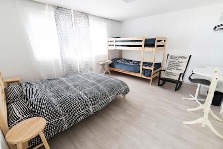 """""""Comestay"""" Double bed+bunk bed Room KR"""