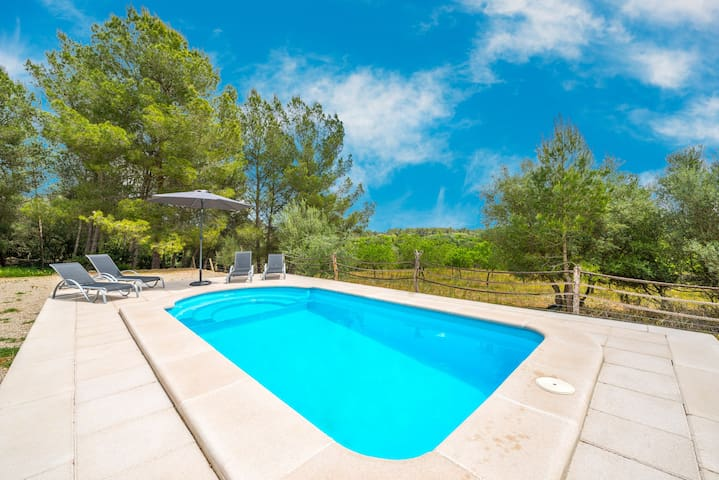 Ca Na Rafela - Quiet villa with private pool - Lloret de Vistalegre - Rumah