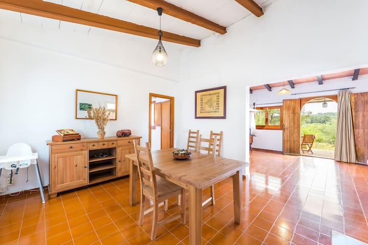 Ca Na Rafela - Quiet villa with private pool - Lloret de Vistalegre - Hus