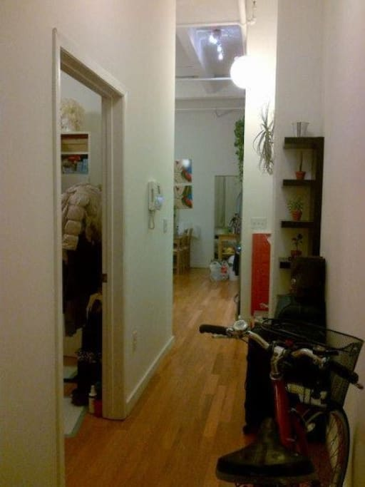 Hallway of apartment