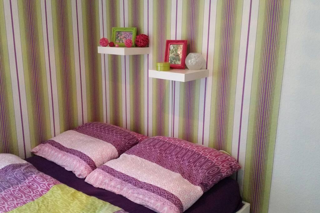 Bett für zwei (140×200)