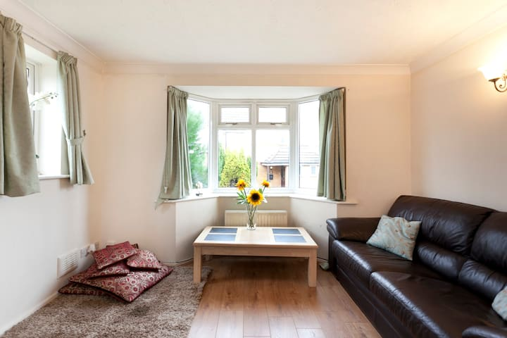 Double  room with separate toilet - Nuthall - Rumah