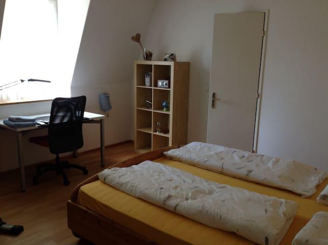 Gros. Privatzimmer/1-Zi. Wohnung in schönem Haus - Winterthur - Casa