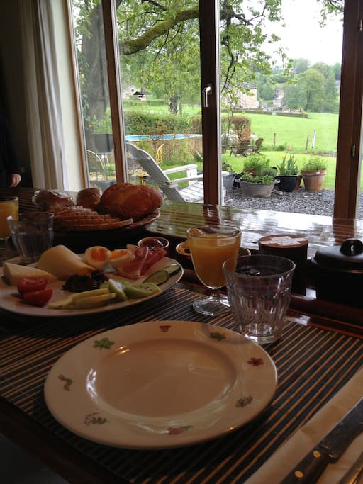We serve including an exclusive royale breakfast