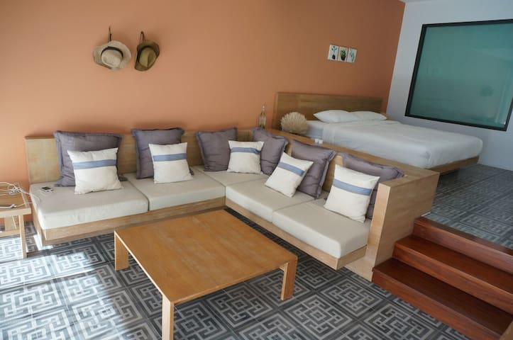 Cozy suite room type by the beach - Chaam - (ไม่ทราบ)