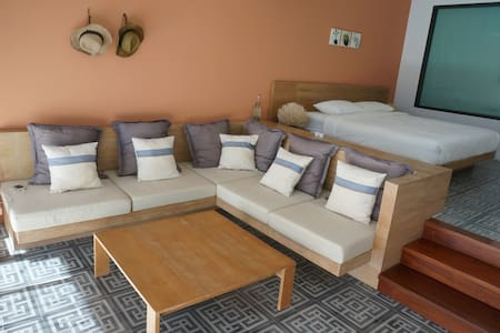 Cozy suite room type by the beach - Wohnung