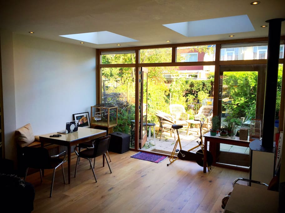 Dining area inside or outside