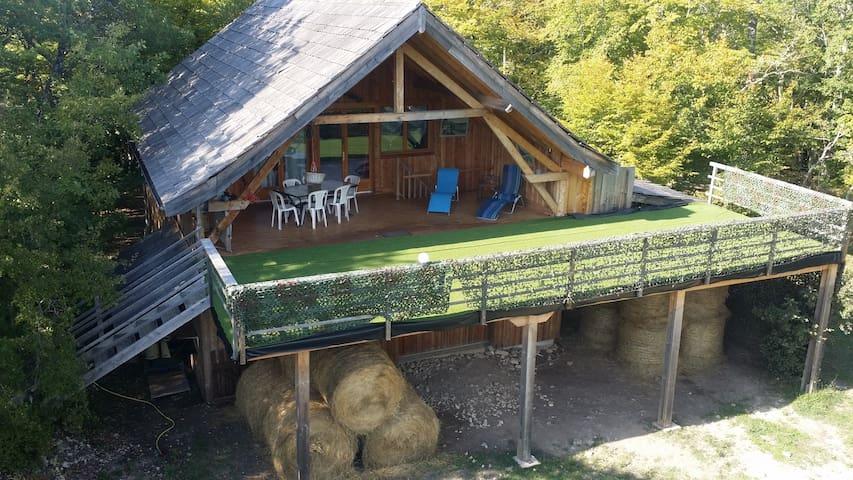 Chalet insolite dans parc naturel - Peyzac-le-Moustier - Almhütte