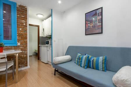 Centro: Apartamento a full. WiFi. B - 马德里 - 公寓