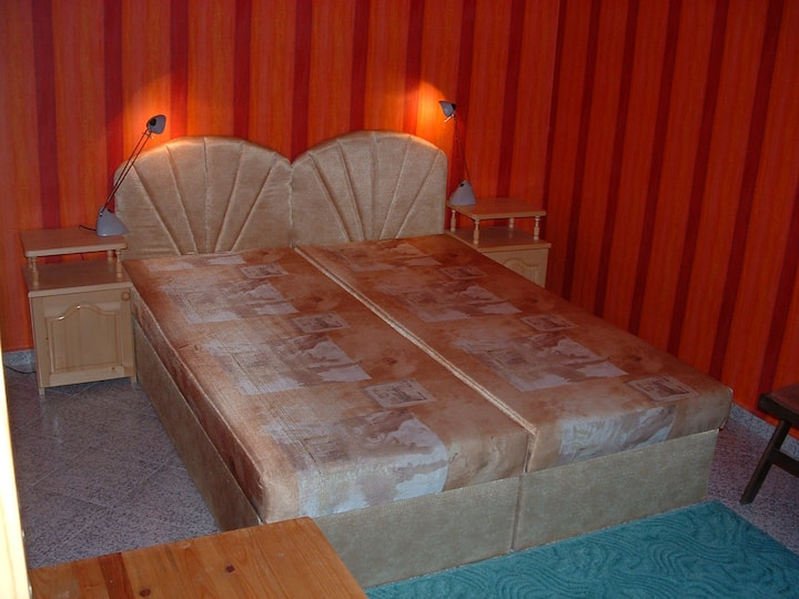 double room in villa Summer House, near the sea.