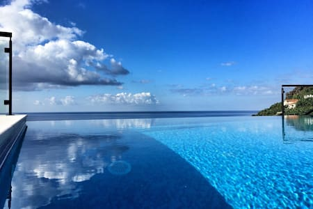 Infinity Pool above the Sea - Ponta do Sol
