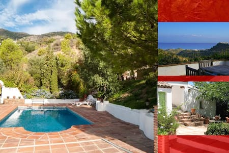 Country villa, priv. pool, views - Mijas - Villa