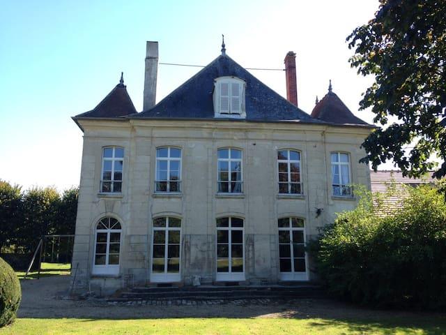 Chambre de charme dans ferme du 18e - Tancrou - Casa