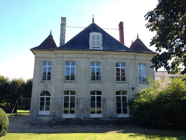 Chambre de charme dans ferme du 18e - Tancrou - Maison
