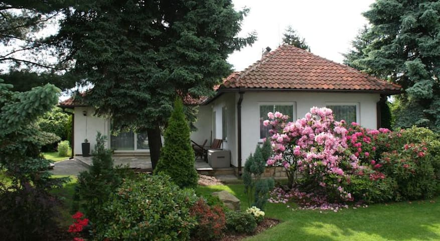 House & garden in stylish location - Praha 9 - Klánovice - Haus