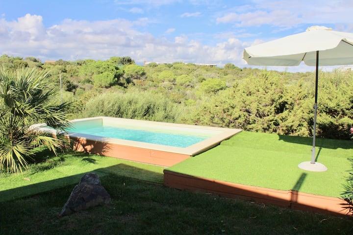 Villa con Piscina Cala Lupo