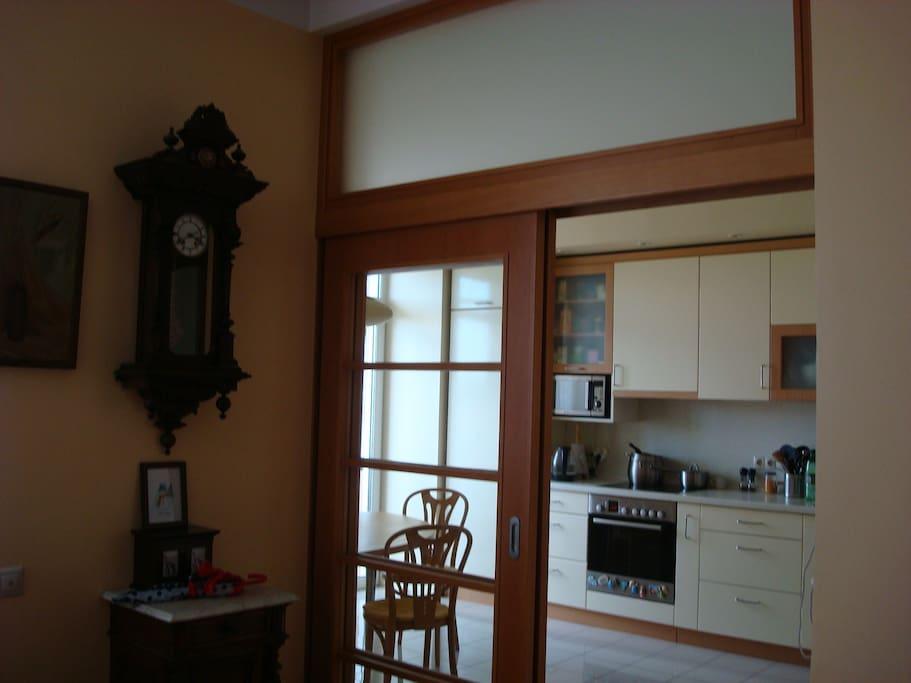 Подогреваемый пол,посудомоечная машина,балкон