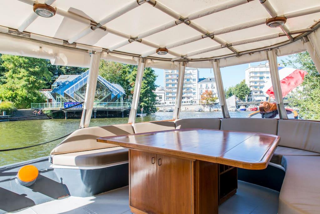 chambre d 39 h tes sur p niche barche in affitto a nantes paesi della loira francia. Black Bedroom Furniture Sets. Home Design Ideas