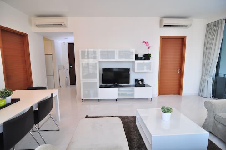 [AO] 2BR / 2Beds / 2Baths Inner City/CBD Apartment - Singapore - Huoneisto