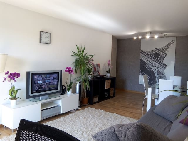PARIS/3 Bedrooms flat + 2 bathrooms - Saint-Denis - Apartamento