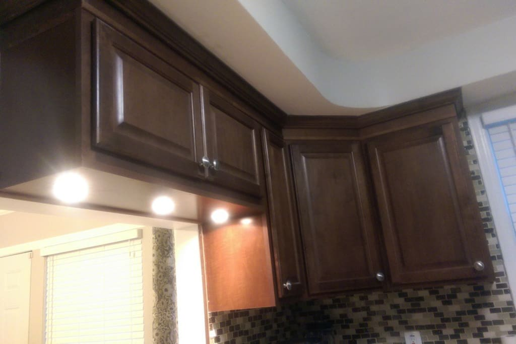 LED Lights in the Cabinets